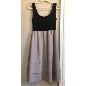 Scoop back dress